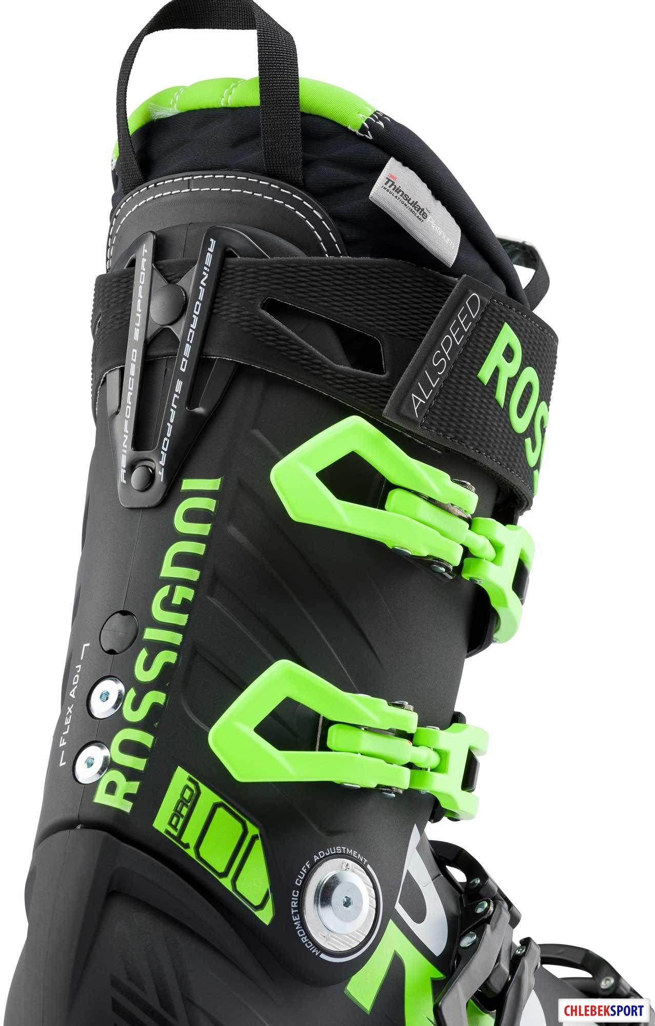 Buty narciarskie Rossignol AllSpeed Pro 100 BlackGreen 2020